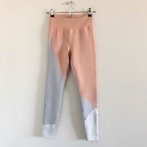 Lovewave Shelby Legging in Coral Pink Colorblock S